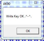 key confirm